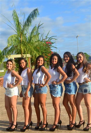 Andressa Soares, Nayely Lima, Carol Gadelha, Eduarda Lopes, Mozi Souza e Tamires Amorim